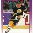 Boston Bruins Bob Sweeney 1991 Score Hockey Card 176