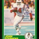 New England Patriots John Stephens RC Rookie Card 1989 Score Football Card 236