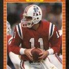 New England Patriots Tony Eason 1989 Pro Set Football Card 247