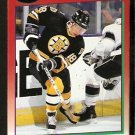 Boston Bruins Petri Skriko 1991 Score Hockey Card 188