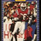 New England Patriots Stanley Morgan 1989 Pro Set Football Card 255