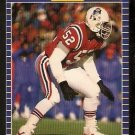New England Patriots Johnny Rembert RC Rookie Card 1989 Pro Set Football Card 256