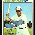 Montreal Expos Jose Morales 1977 Topps Baseball Card 102 vg