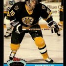Boston Bruins Dave Poulin 1991 Topps Stadium Club Hockey Card 253