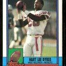 NEW ENGLAND PATRIOTS HART LEE DYKES 1990 TOPPS # 417