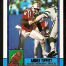 New England Patriots Andre Tippett 1990 Topps Football Card 421