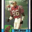 NEW ENGLAND PATRIOTS STANLEY MORGAN 1990 TOPPS # 423