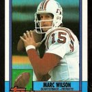 New England Patriots Marc Wilson 1990 Topps Football Card 426