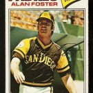 SAN DIEGO PADRES ALAN FOSTER 1977 TOPPS # 108 VG