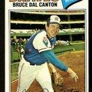 Atlanta Braves Bruce Dal Canton 1977 Topps Baseball Card 114 vg