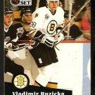Boston Bruins Vladimir Ruzicka 1991 Pro Set Hockey Card 353