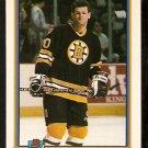 BOSTON BRUINS CHRIS NILAN 1991 BOWMAN # 351