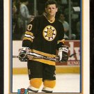 Boston Bruins Chris Nilan 1991 Bowman Hockey Card 351