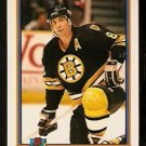 Boston Bruins Cam Neely 1991 Bowman Hockey Card 366