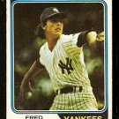 New York Yankees Fred Beene 1974 Topps Baseball Card 274