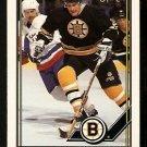 Boston Bruins Bob Sweeney 1991 OPC O Pee Chee Hockey Card 99