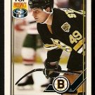 Boston Bruins Shayne Stevenson RC Rookie Card 1991 OPC O Pee Chee Hockey Card 121