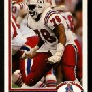 New England Patriots Bruce Armstrong 1991 Upper Deck Football Card 371
