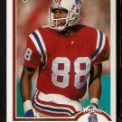 New England Patriots Hart Lee Dykes 1991 Upper Deck Football Card 433