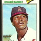 California Angels Orlando Ramirez 1977 Topps Baseball Card 131 vg