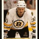 Boston Bruins Chris Nilan 1991 Upper Deck Hockey Card 237