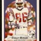 New England Patriots Stanley Morgan 1990 Fleer Football Card 323