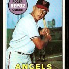 CALIFORNIA ANGELS ROGER REPOZ 1969 TOPPS # 103 EX