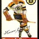BOSTON BRUINS WARREN GODFREY 1954 TOPPS # 50 NR MT