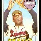 ATLANTA BRAVES TOMMIE AARON 1969 TOPPS # 128 EX/EM