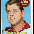 SAN DIEGO PADRES BILL McCOOL 1969 TOPPS # 129 VG