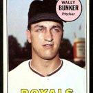 KANSAS CITY ROYALS WALLY BUNKER 1969 TOPPS # 137 EM/NM