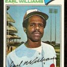 MONTREAL EXPOS EARL WILLIAMS 1977 TOPPS # 223 EX
