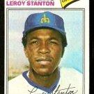 SEATTLE MARINERS LEROY STANTON 1977 TOPPS # 226 VG