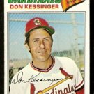 ST LOUIS CARDINALS DON KESSINGER 1977 TOPPS # 229 VG