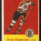 BOSTON BRUINS JERRY TOPPAZZINI 1957 TOPPS # 5 NR MT OC