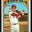 PHILADELPHIA PHILLIES LARRY BOWA 1972 TOPPS # 520 VG/EX