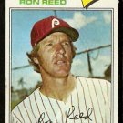 PHILADELPHIA PHILLIES RON REED 1977 TOPPS # 243 good