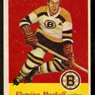 BOSTON BRUNS FLEMING MACKELL 1957 TOPPS # 16 EM/NM