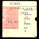 1968 TICKET STUB BOSTON BRUINS @ LOS ANGELES KINGS PHIL ESPOSITO 4 POINTS
