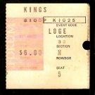 1969 TICKET STUB BOSTON BRUINS @ LOS ANGELES KINGS BOBBY ORR 2 ASSISTS
