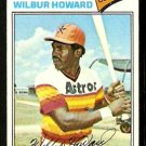 HOUSTON ASTROS WILBUR HOWARD 1977 TOPPS # 248 VG