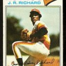 HOUSTON ASTROS J.R. RICHARD 1977 TOPPS # 260 VG