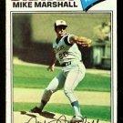 ATLANTA BRAVES MIKE MARSHALL 1977 TOPPS # 263 VG
