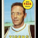 DETROIT TIGERS ROY FACE 1969 TOPPS # 207 VG