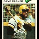 PITTSBURGH PIRATES DAVE PARKER 1977 TOPPS # 270 G/VG
