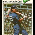 CHICAGO WHITE SOX ERIC SODERHOLM 1977 TOPPS # 273 good