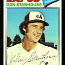 MONTREAL EXPOS DON STANHOUSE 1977 TOPPS # 274 VG+