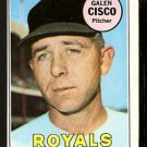 KANSAS CITY ROYALS GALEN CISCO 1969 TOPPS # 211 EX