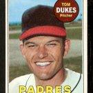SAN DIEGO PADRES TOM DUKES 1969 TOPPS # 223 VG/EX