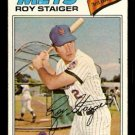 NEW YORK METS ROY STAIGER 1977 TOPPS # 281 VG